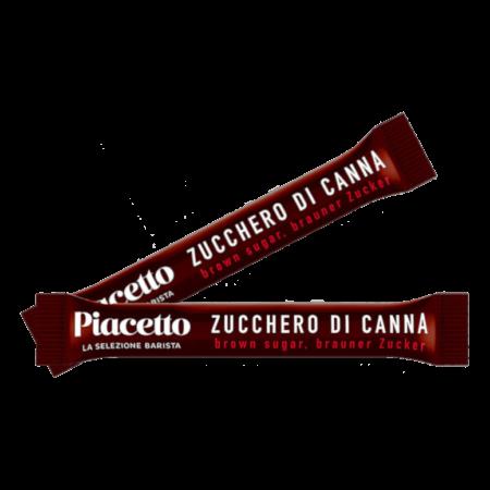Piacetto Cukier brązowy wsaszetkach 4g