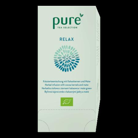Pure Tea Spa RELAX zziarnami kakaowca imate green