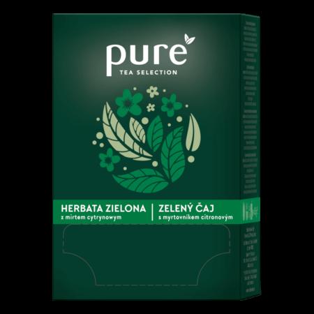 Pure Tea Selection HERBATA ZIELONA zmirtem cytrynowym